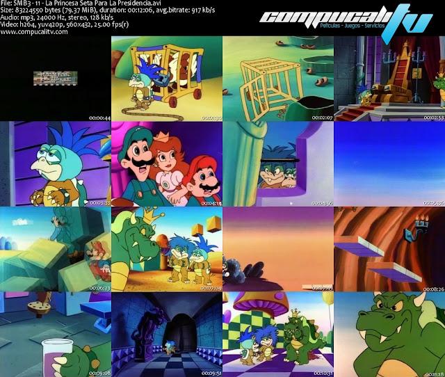 Las Aventuras de Super Mario Bros 3 Serie Completa Español Latino