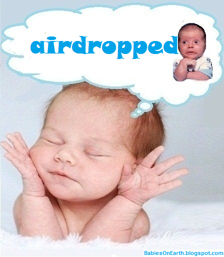 airdropped