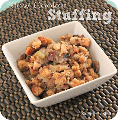 Slow Cooker Stuffing Recipe | Six Sisters' Stuff