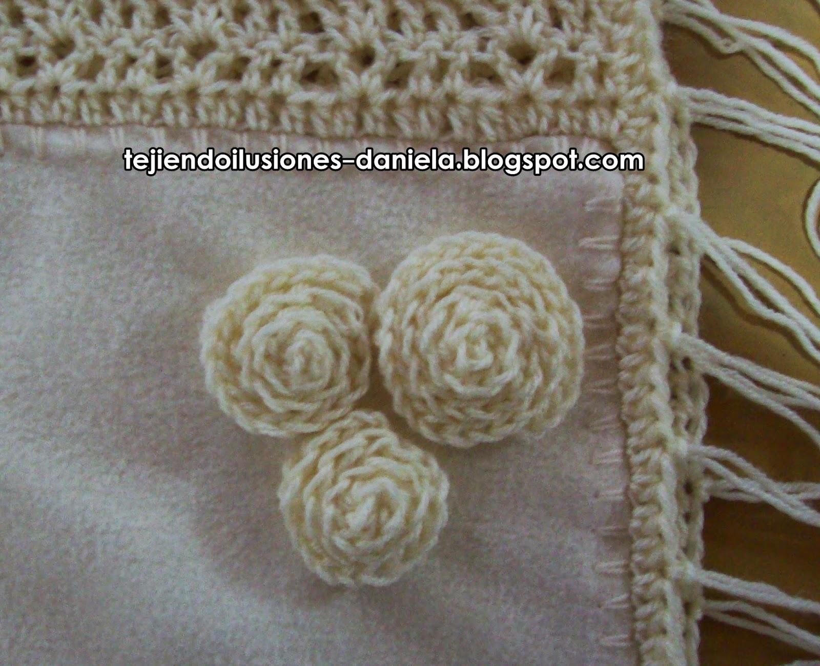 tejido crochet y artesanías: Ponchos combinados.