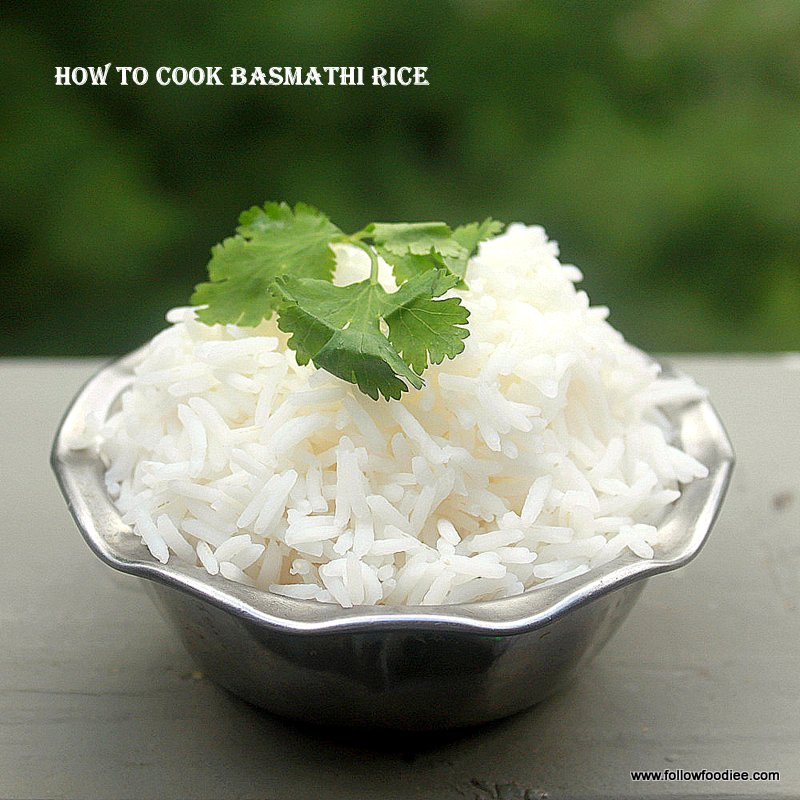 Cook Basmathi Rice to perfection