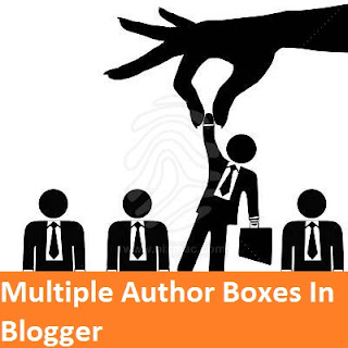 multiple author boxes blogger