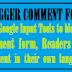 How to link Google input tool to your blog comment box