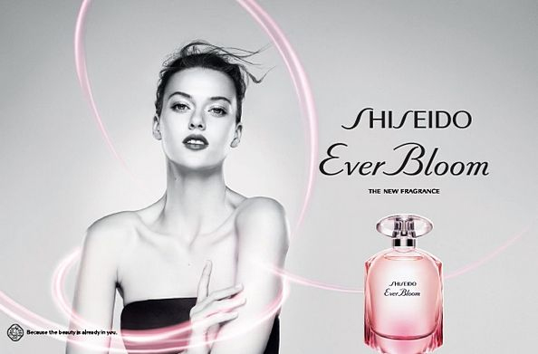 fragancia Ever Bloom de Shiseido para mujer