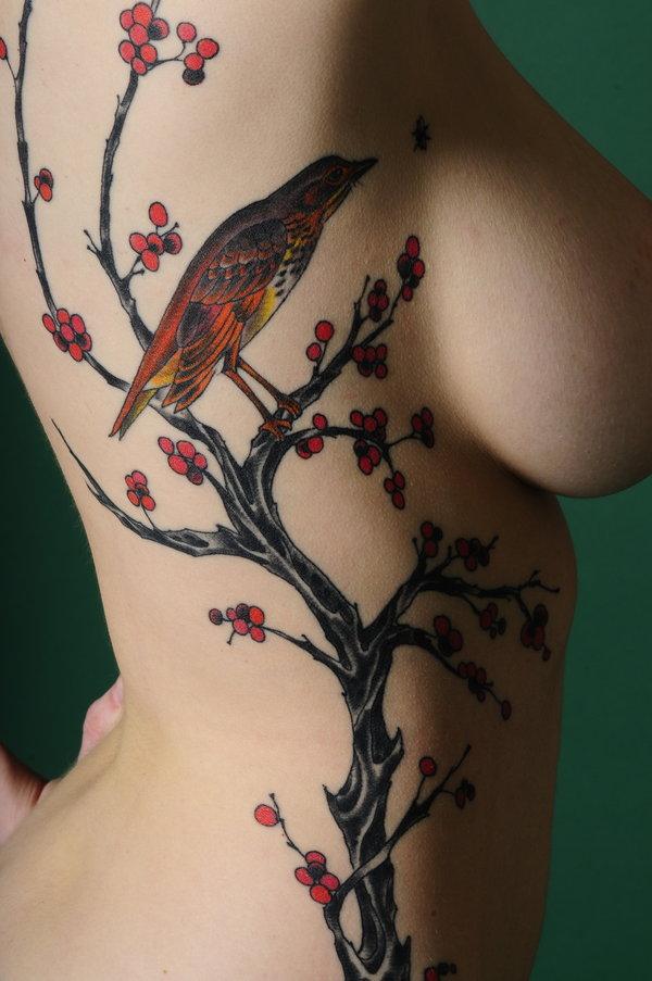 Tattoo Simbols Cherry Blossom Tattoos Japannese Tattoo Symbols