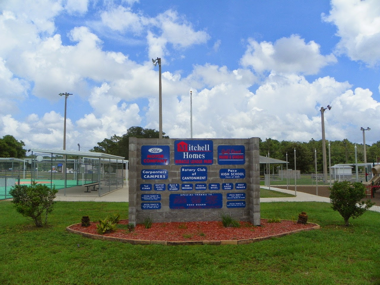 Miracle League Park Pensacola, FL