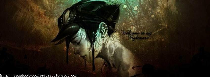 Une image de couverture facebook manga