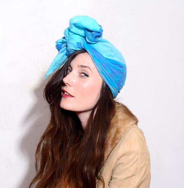 1970s Turban Head Scarf #vintage #scarf #1970s