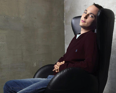 El actor Jim Parsons, aka Sheldon Cooper. FILMA2. Making Of