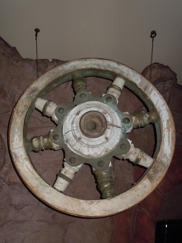 Ben Hur chariot wheel
