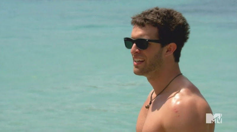 Trey Shirtless in The Real World St. Thomas s27e2