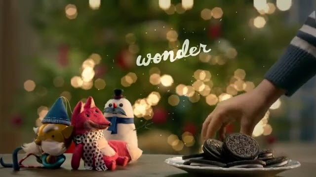 oreo cookie wonder whats inside the holidays 2015 christmas commercial - Christmas Commercials