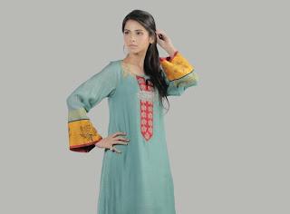 Pakistani Dresses For Girls 2013