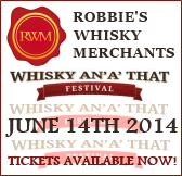 Robbies Whisky Merchants - Whisky An'A' That Festival 2014