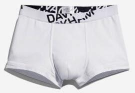 David Beckham bodywear H&M otoño invierno 2014 boxer