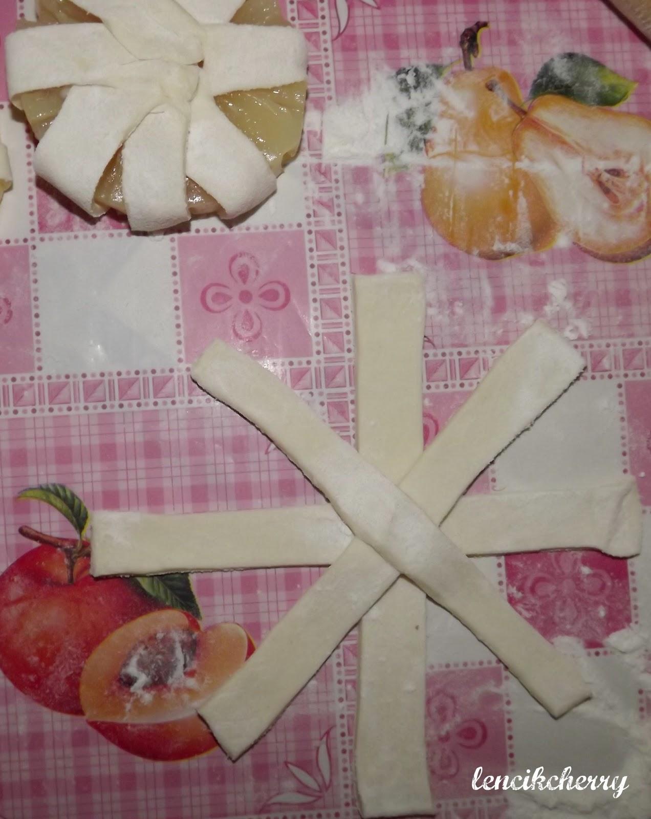 ананас в слоеном тесте фото рецепт