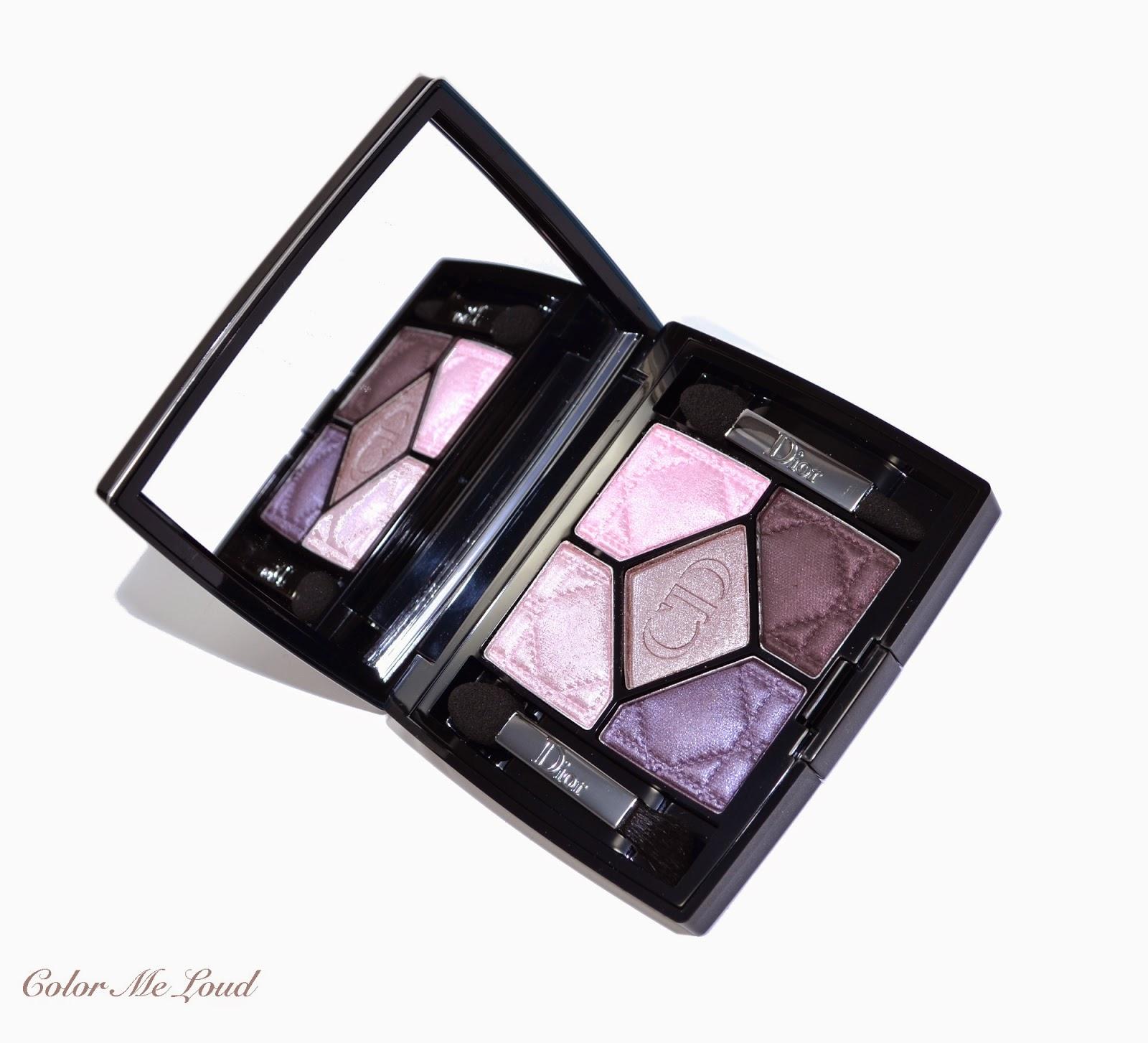 21589d2b0382 Dior 5 Couleurs Eye Shadow Palette  156 Femme-Fleur, Swatch, Review ...