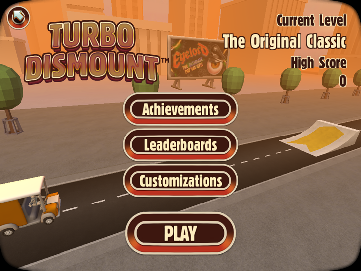 Turbo Dismount Free App Game By Secret Exit Ltd