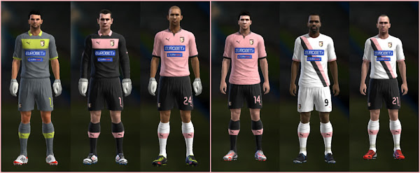 PES 2013 Palermo 2012/13 Kits Update by Nemanja