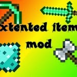 Extended  Minecraft Hile 24.05.2014 Mod Extended Items 1.7.2/1.8.1