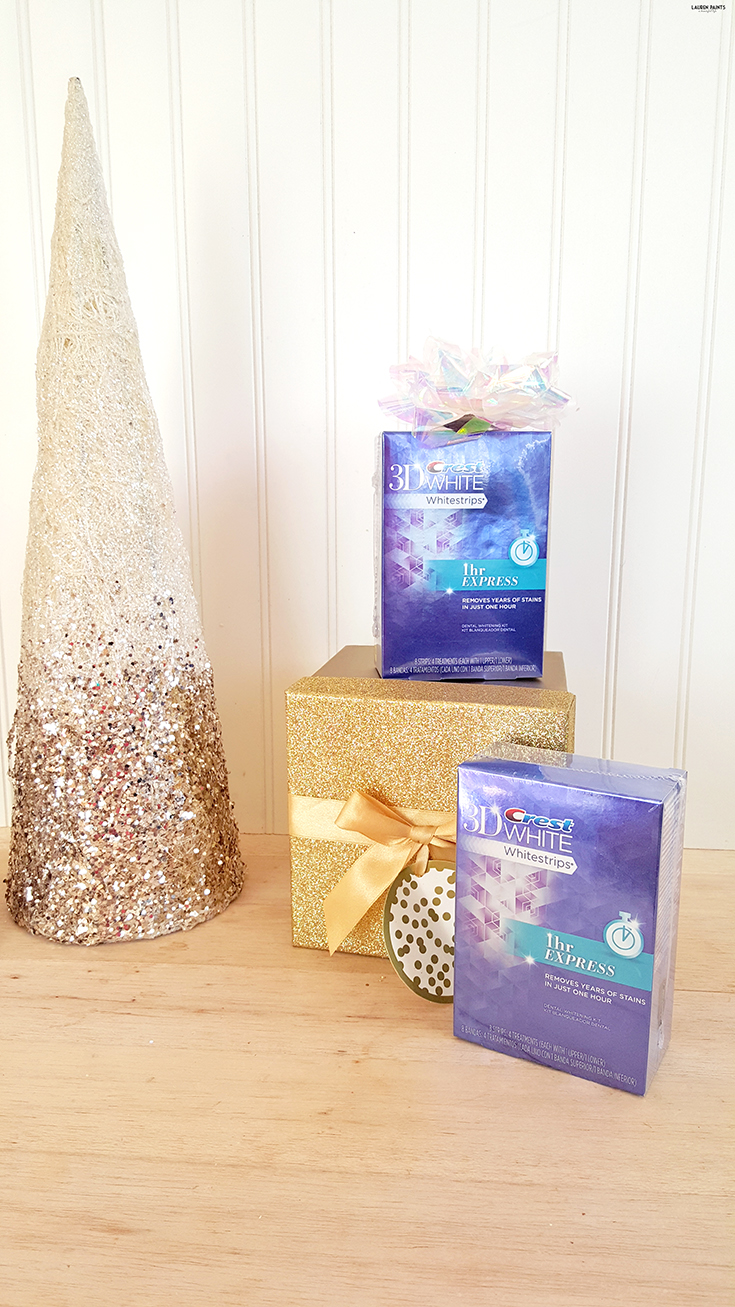 Spread some joy with a brighter, whiter smile this holiday! Find out how you can eliminate years of stains with a convenient treatment from the comfort of your own home! #HolidaySmile #Crest