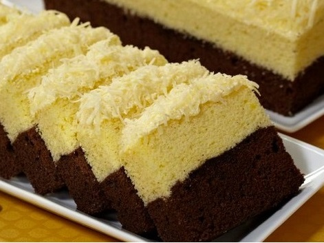 resep kue brownies coklat keju panggang amanda spesial