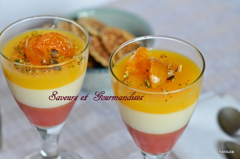 Balouza aux 2 Oranges. Orange and Milk  Pudding.