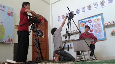 Kak Ojan Pendongeng di Rasil TV