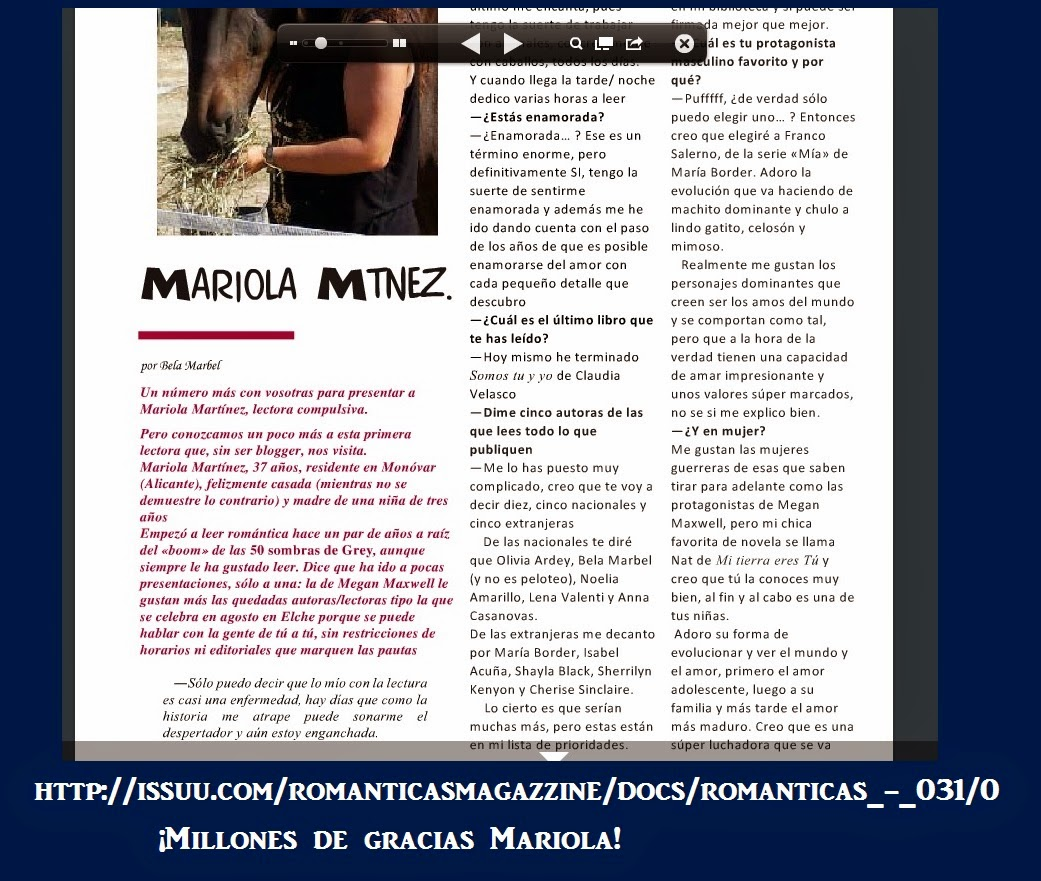 Romántica's revista digital