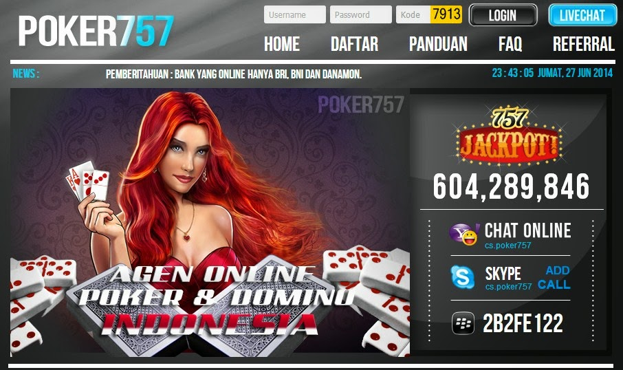 judi poker on line