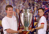 Champions League Trophy, Nou Camp, Barcelona