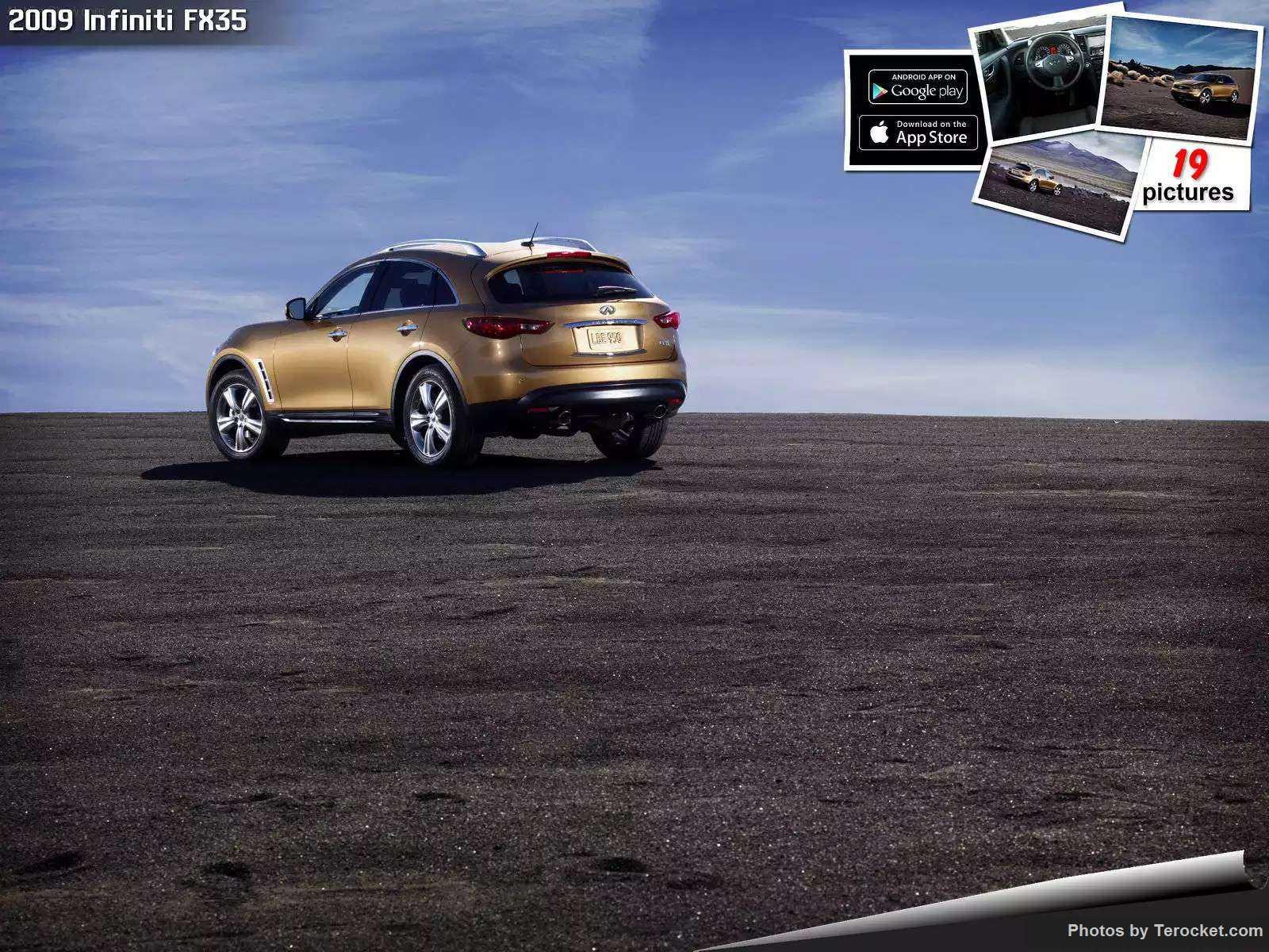 Hình ảnh xe ô tô Infiniti FX35 2009 & nội ngoại thất