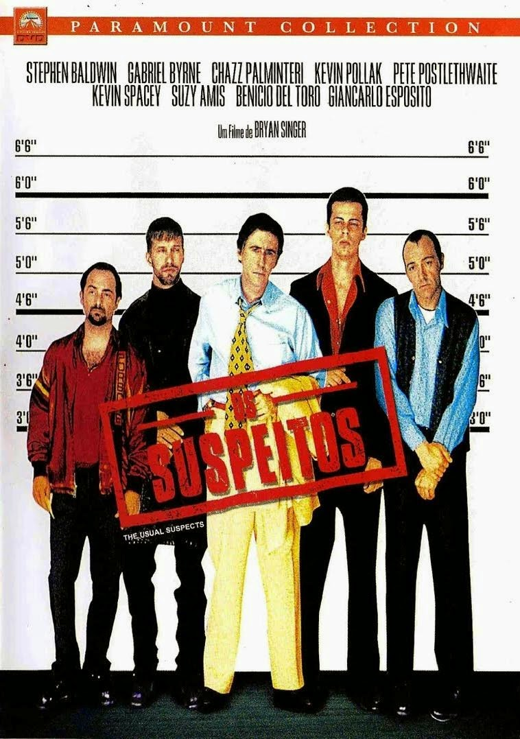 Filme Os Suspeitos The Usual Suspects Dublado AVI BDRip