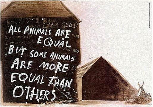 animal farm by george orwell 3 essay 'animal farm' and 'oliver twist', by george orwell and charles dickens respectively, are both novels written by two very different authors writing on a rather.
