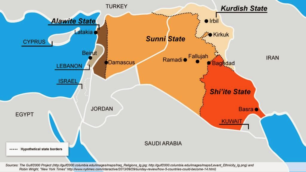 Ethical Musings: Iraq - one possible map