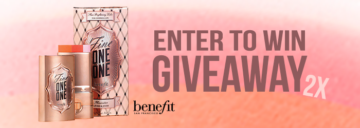 Benefit Fine One One Giveaway