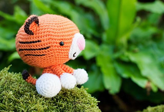 amigurumi tigre tiger