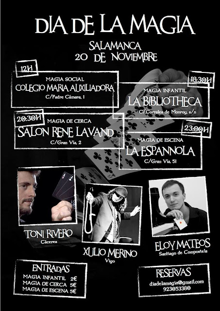 Día de la Magia en Salamanca