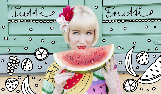 Lazy Oaf, fruits in fashion, summer look, tutti frutti fashion