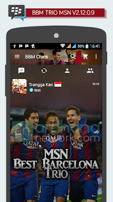Preview BBM TRIO MSN V2.12.0.9