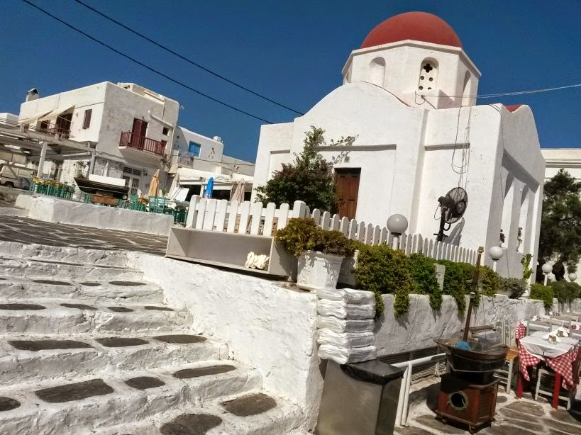 Greek Church in Mykonos