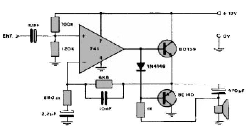 solidworks dise u00d1o y proyectos      circuito amplificador de audio con 741