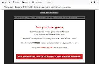 Kode Kupon Gratis Domain dot Science Mei 2015