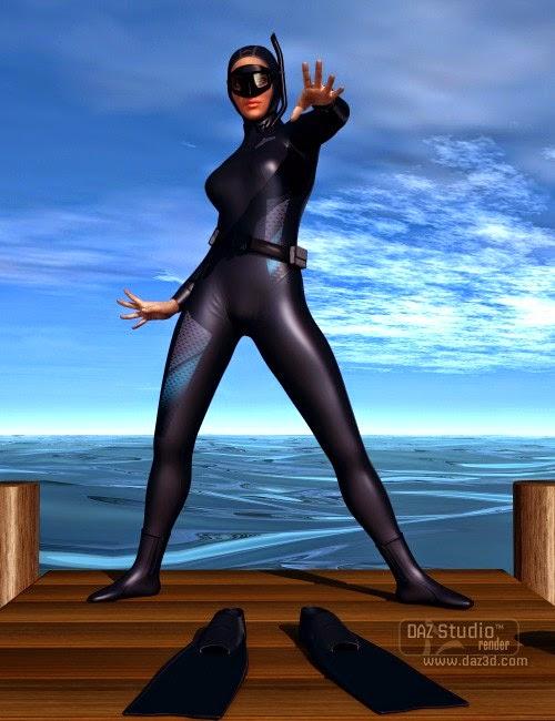 Apnéiste et accessoires pour Genesis 2 Femme