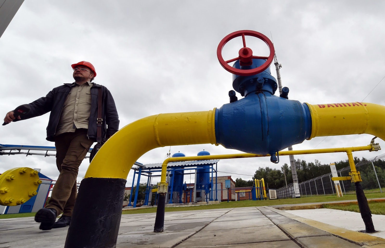 Pilot gas reverse pumping to Ukraine have just started from Slovakia.