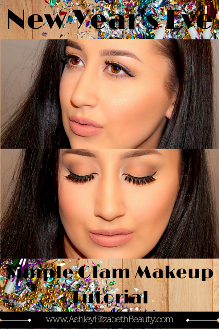 New Year's Eve Simple Glam Makeup Tutorial