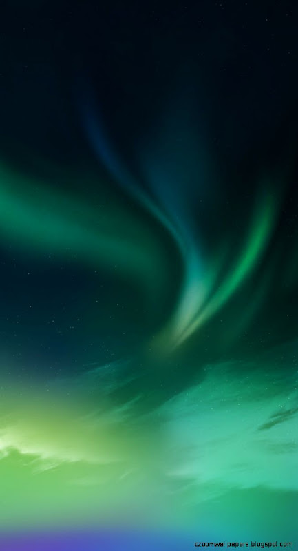 Green Northern Lights   iPhone 5 Wallpaper by anxanx on DeviantArt