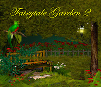 Fairytale Garden 2 digital fantasy backgrounds