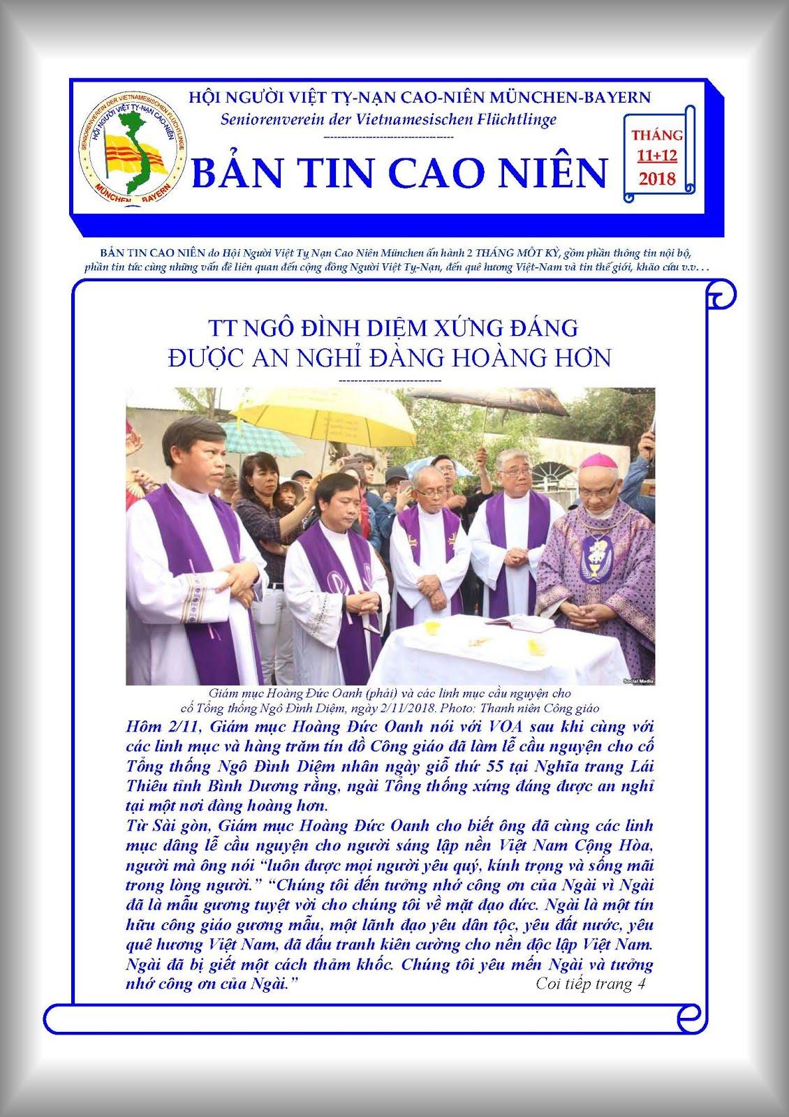 BẢN TIN CAO NIÊN 11+12.2018