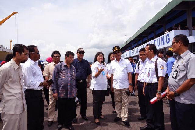 Komisi V DPR RI Pantau Pelabuhan Bitung Jelang Natal